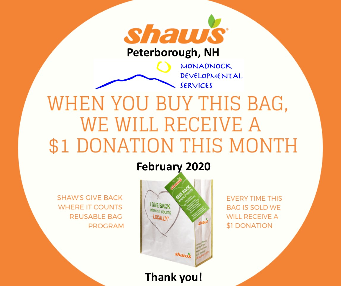 Shaws Give Back Bags in Peterborough During February