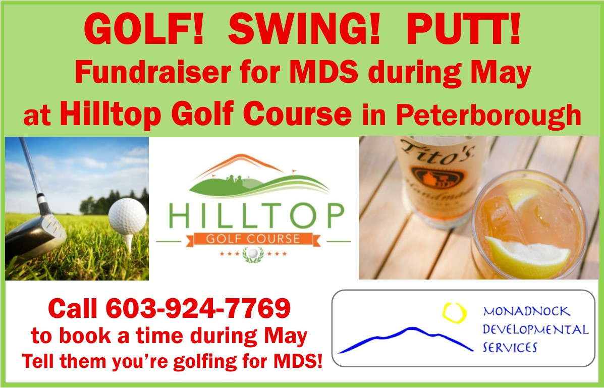 Hilltop Golf Benefits MDS in May